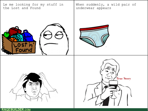 lost and found,underwear