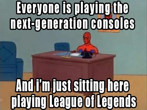 60s spiderman lol nextgen i'm just sitting here - 7927938816