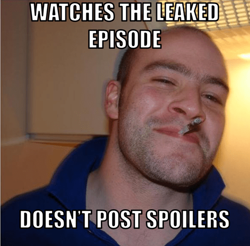 Good Guy Greg,spoilers,leaked episode