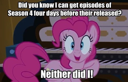 pinkie pie,organ,leaked episode