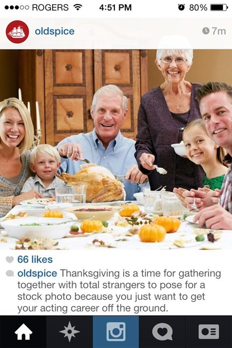 old spice,stock photos,twitter,thanksgiving