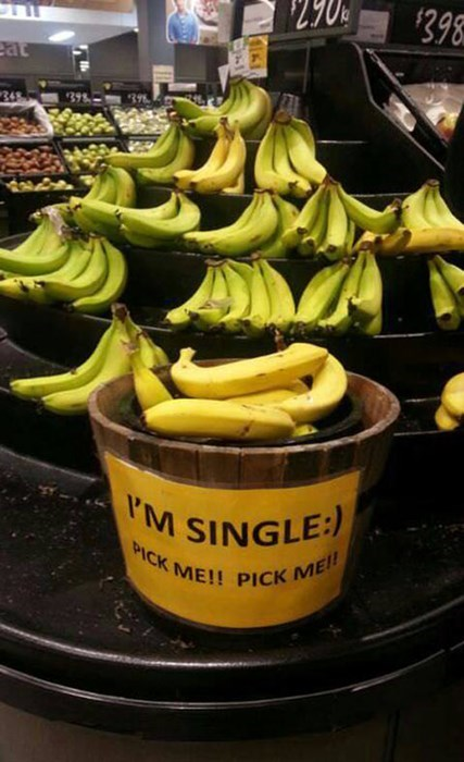 bananas,groceries,single