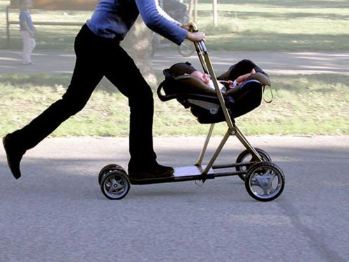 Babies strollers parenting scooters - 7929069056