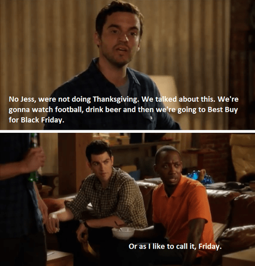 black friday,New Girl,winston
