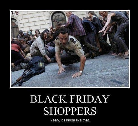 Rick Grimes black friday The Walking Dead - 7929206272