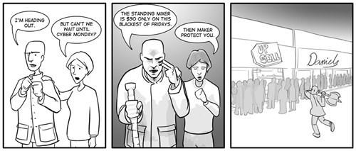 sad but true black friday funny web comics - 7929233664
