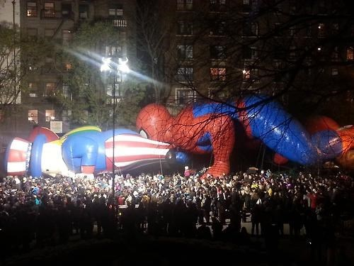 sexy times,parade,Uncle Sam,Spider-Man