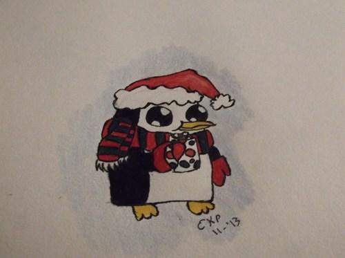 Fan Art winter holidays adventure time - 7930388224
