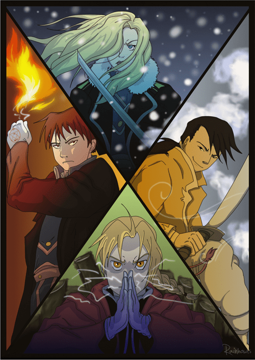 anime Fan Art fullmetal alchemist - 7930512640