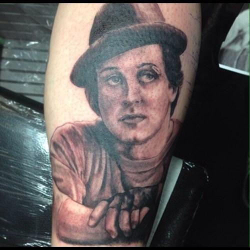 bad funny tattoos rocky - 7930618368