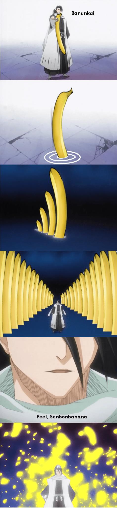 wtf anime bananas - 7930797312