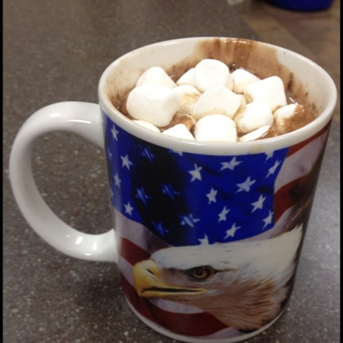 Cafe' Mocha served with a side of Freedom!!