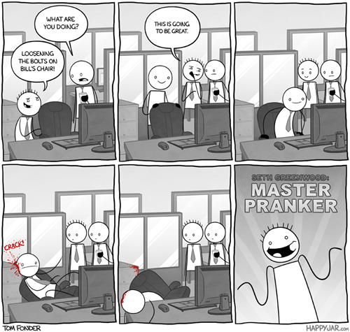 funny Office whoops pranks web comics - 7931109120