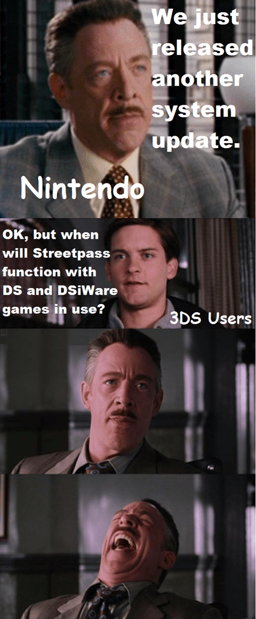 ds FAIL nintendo streetpass - 7931219456