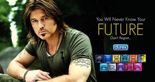 Billy Ray Cyrus condoms durex miley cyrus - 7932037376