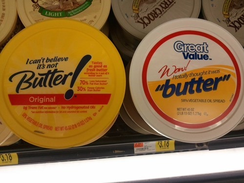 butter i-cant-believe-its-not-butter off-brand products - 7932046080