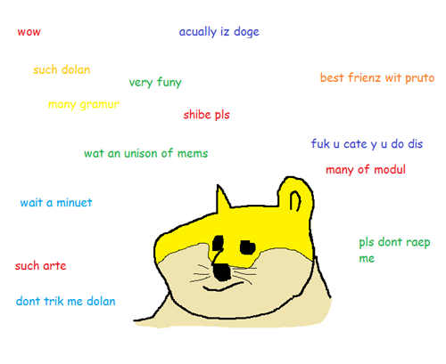 doge,pls stahp you are killing me,dolan