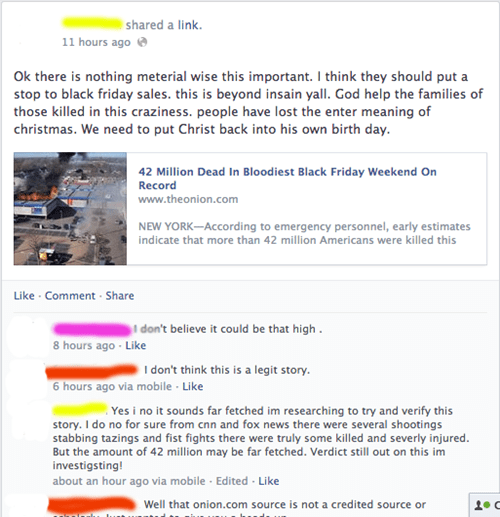 black friday FAIL the onion failbook