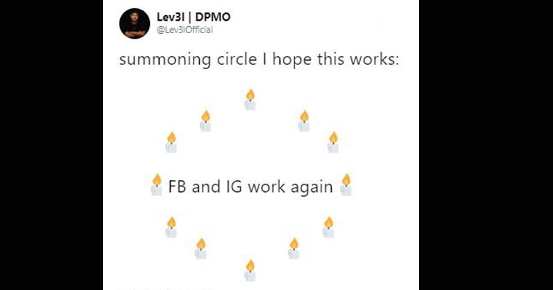 summoning circle twitter memes