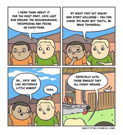 Cats funny web comics - 7932750336