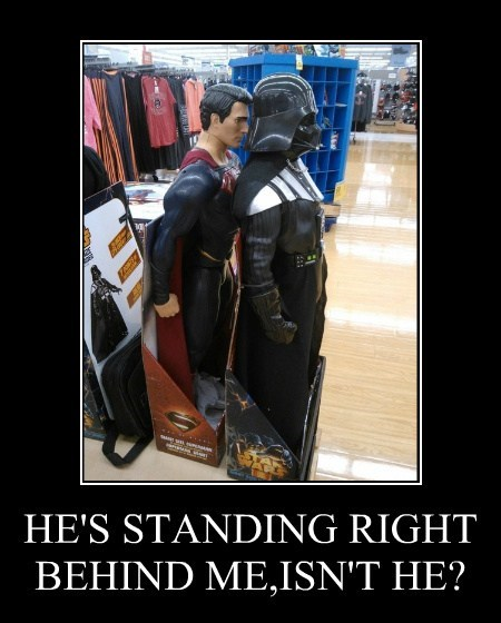 wtf,funny,superman,darth vader