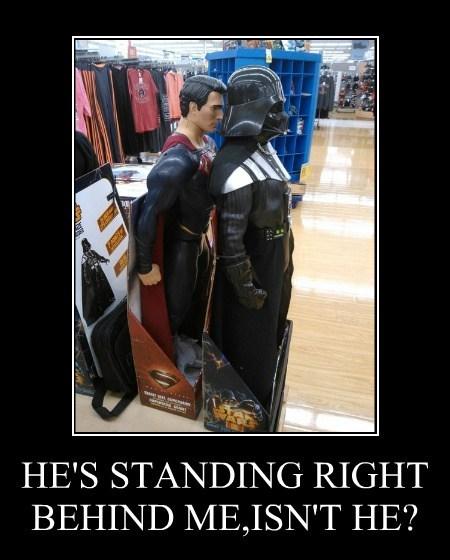 wtf funny superman darth vader - 7932818176