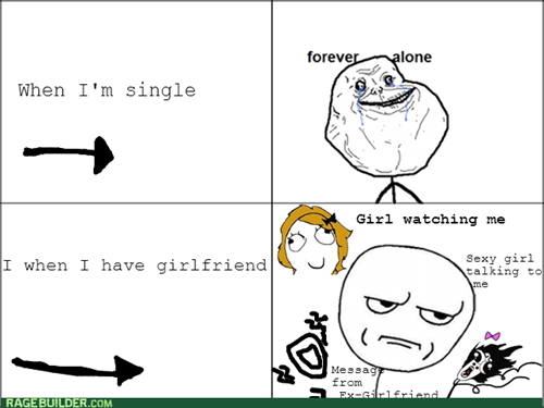 forever alone,relationships