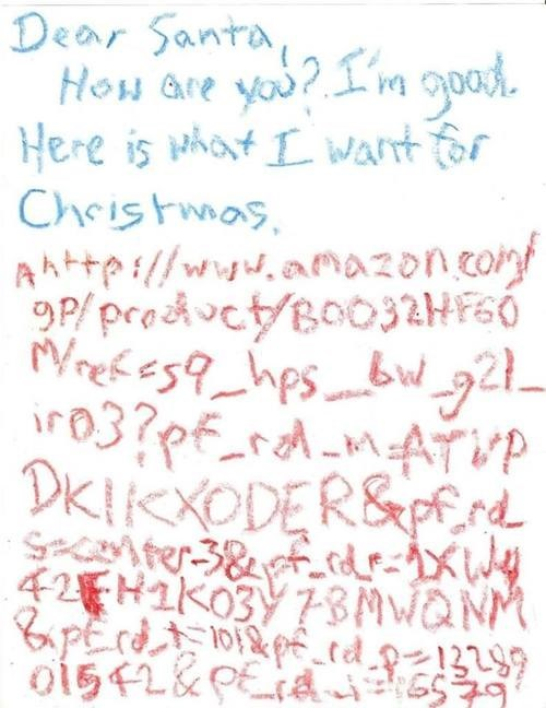 Do You Think Santa Has Amazon Prime?