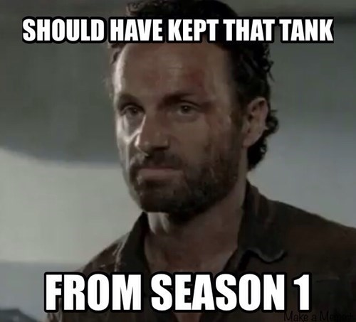 Rick Grimes tank The Walking Dead - 7933398016