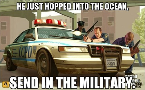Grand Theft Auto video game logic - 7933424896