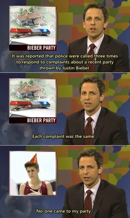 birthday sad party SNL justin bieber - 7933636608