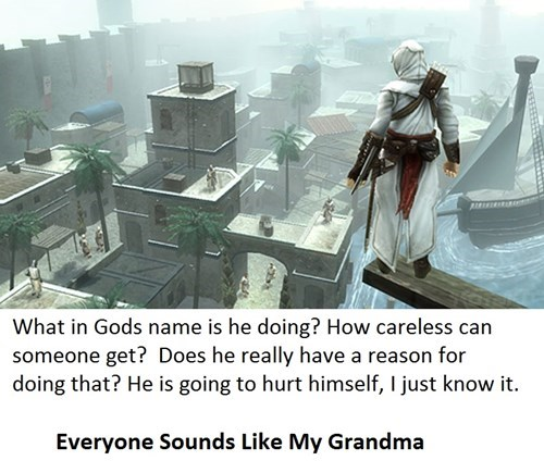 assassins creed,NPCs