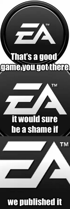 gamers EA publishers