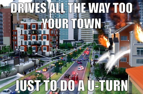 SimCity,video game logic