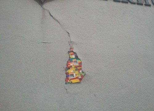 there I fixed it walls lego - 7934366720