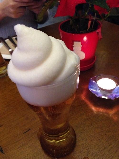 foam beer wtf funny - 7934576128