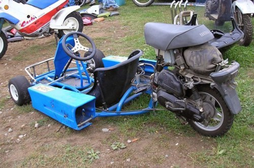 motorcycle,there I fixed it,trike