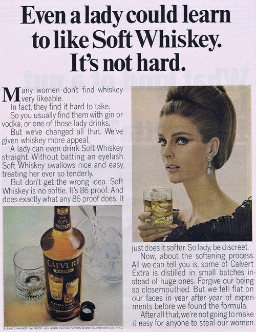 ads funny sexist wtf whiskey - 7934703104