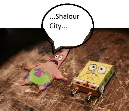 bikini bottom Pokémon shalour city - 7934827520