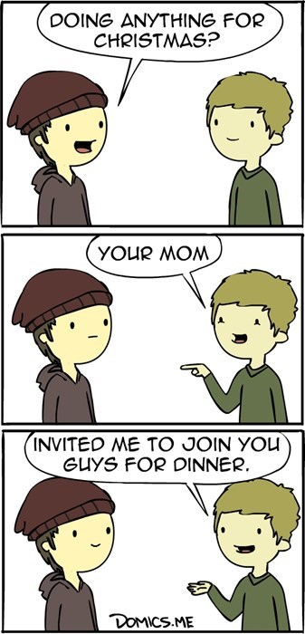 christmas your mom funny web comics - 7934862592