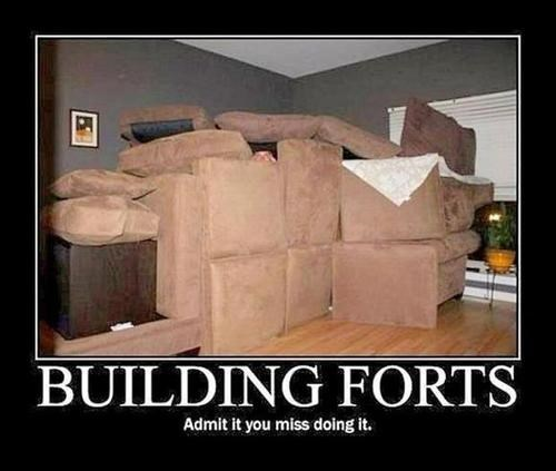 kids couch funny building forts - 7934970880