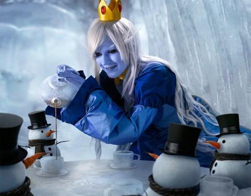 cosplay,ice queen,cartoons,adventure time