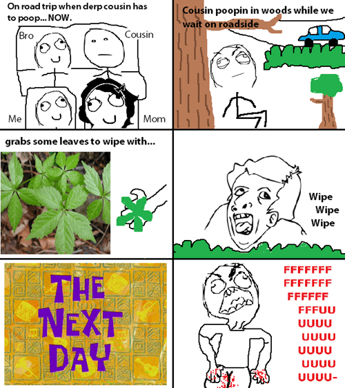 road trips leaves poison ivy - 7934987008