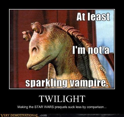 funny,jar jar binks,star wars,twilight