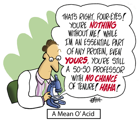amino acids science facts web comics