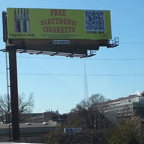 Ad,facepalm,funny,sign,QR code
