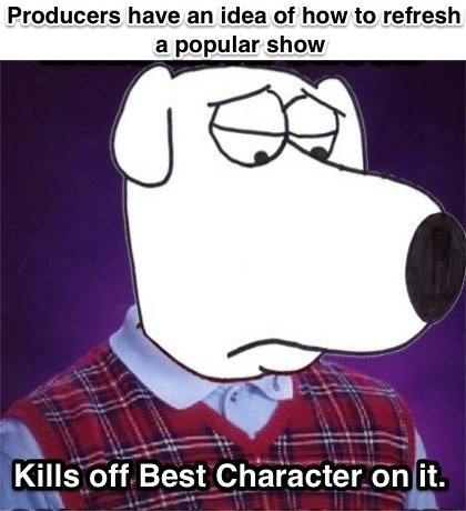 bad luck brian brian griffin family guy - 7935648000
