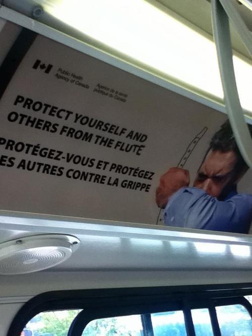 Canada,flute,flu