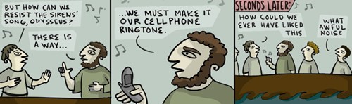 cellphones sirens odyssueus web comics