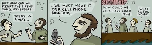 cellphones sirens odyssueus web comics - 7936024064